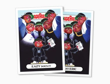 Garbage Pail Kids Parody Rock & Roll Hall of Fame