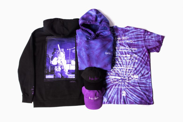 Diamond Supply Co. x Jimi Hendrix Purple Haze Collection