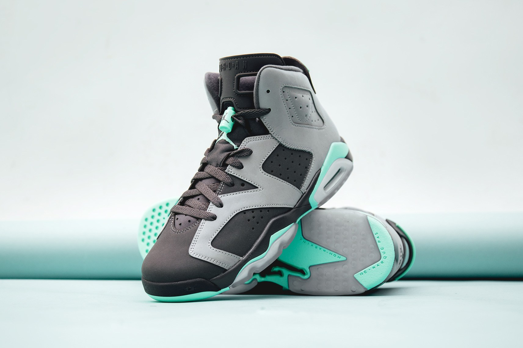 best website 61325 60339 ... air jordan jumpman mint green red ...