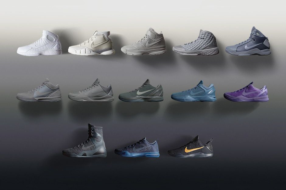 Nike Auctioning Off Hand-Signed Black Mamba Pack