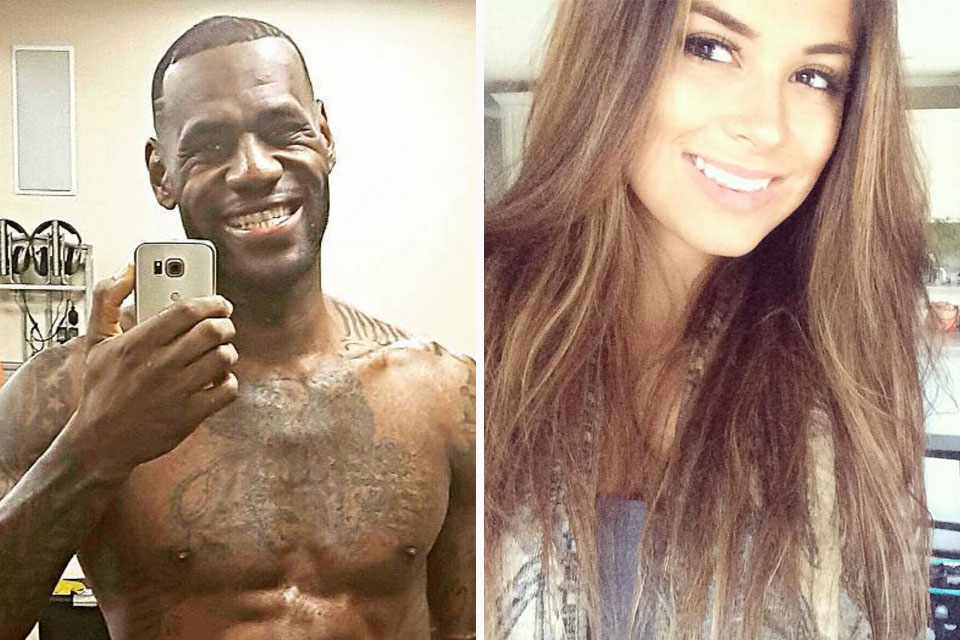 LeBron James Caught Sliding into Model's DMs ...