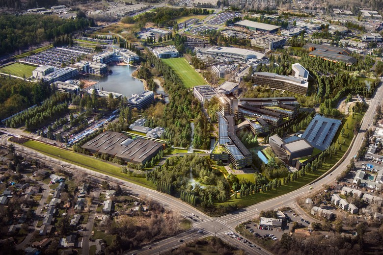 Nike Reveals Design for World HQ Expansion