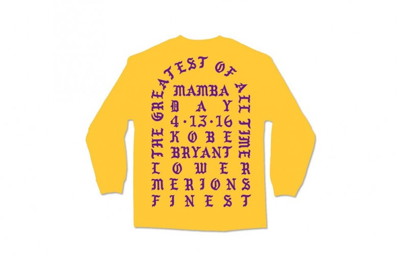 Kanye West Drops 'I Feel Like Kobe' T-Shirt