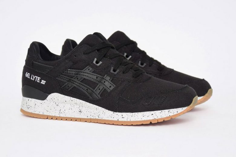 ASICS GEL-Lyte III Canvas Black/Gum