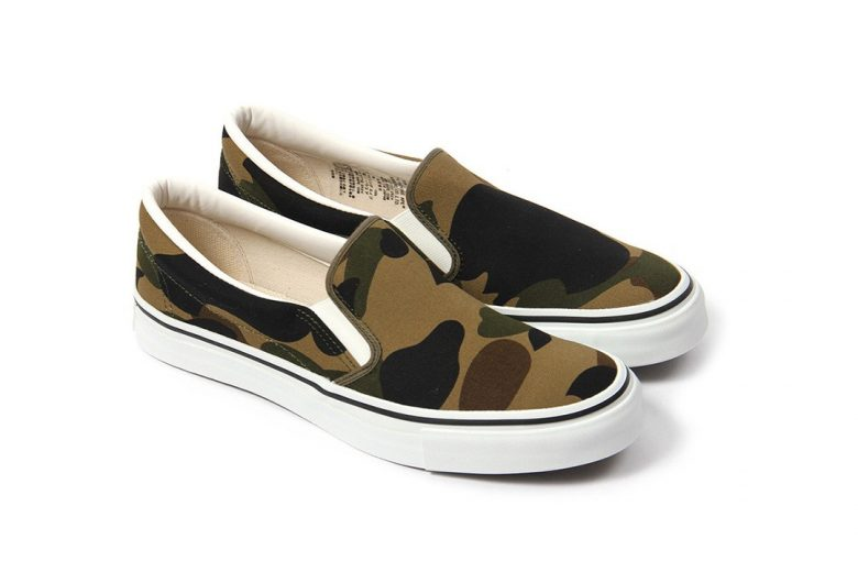 BAPE Summer 2016 Camo Slip-On