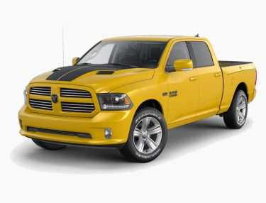 Dodge Ram 1500 Stinger Yellow Sport