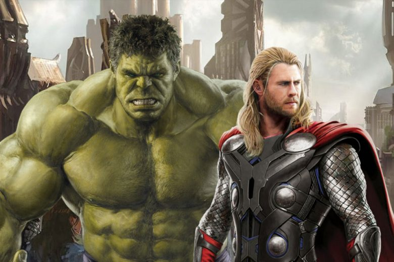 The Hulk and Thor