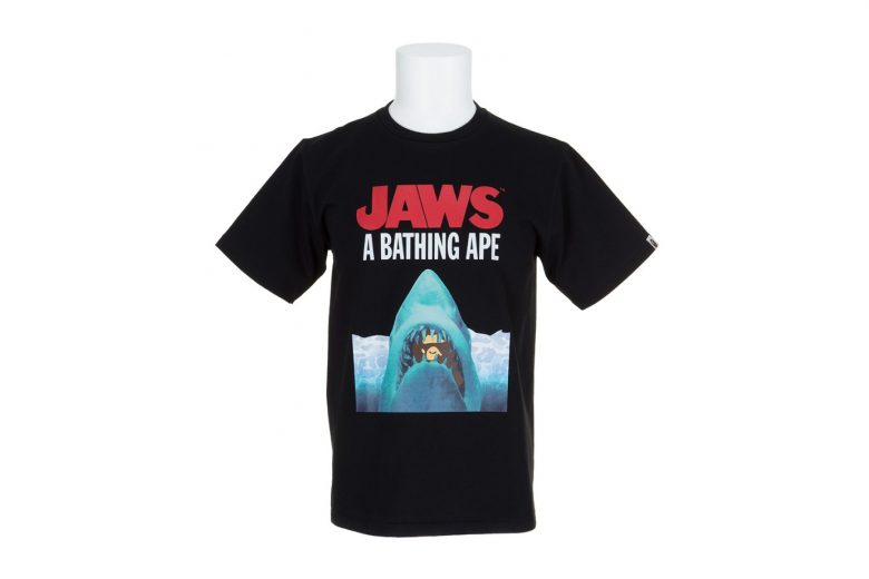 BAPE x JAWS Spring/Summer 2016 T-Shirts