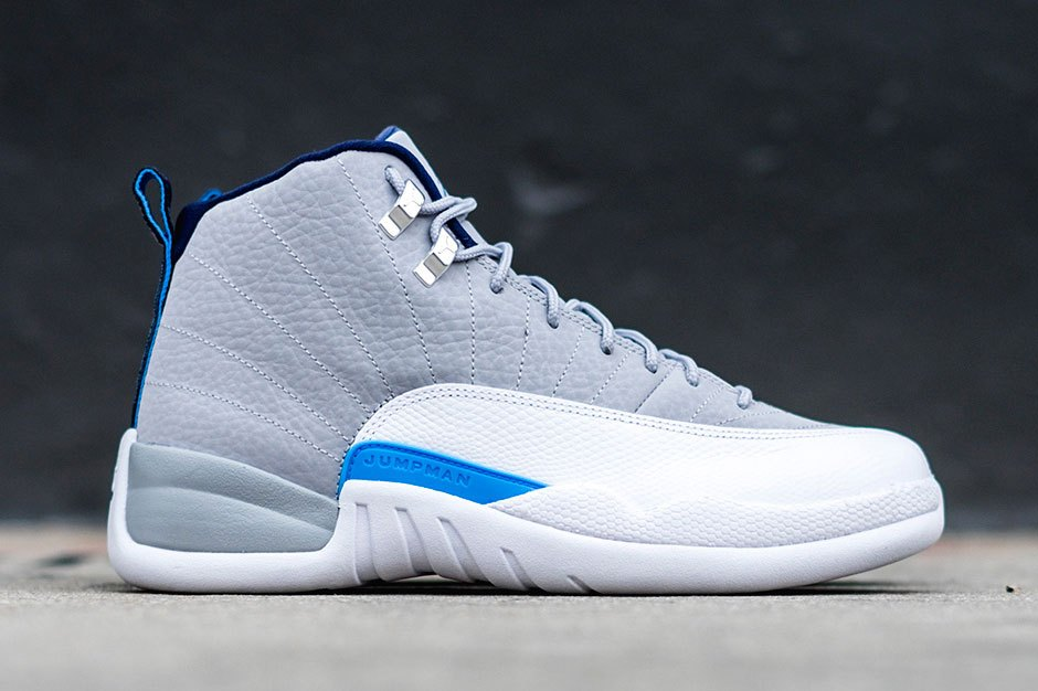 Air Jordan 12 Retro Wolf Grey/University Blue