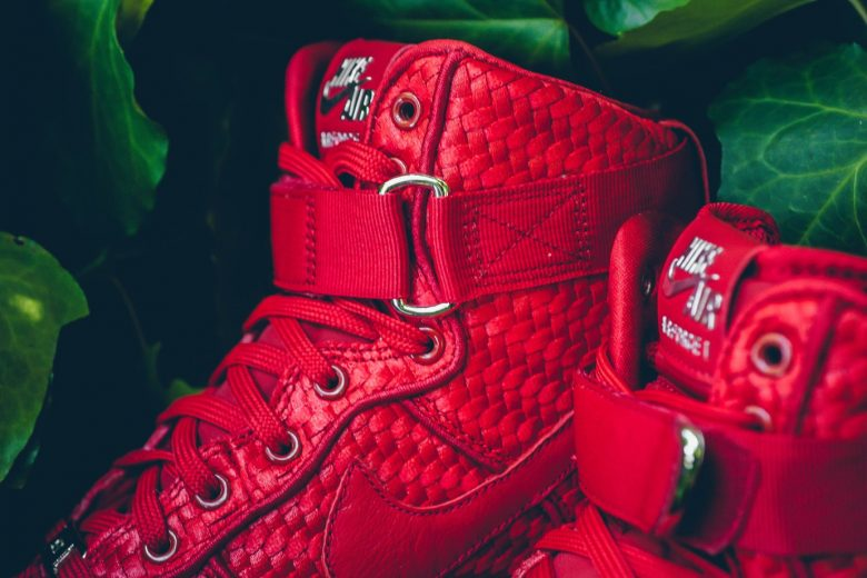 Nike Air Force 1 Woven Gym Red