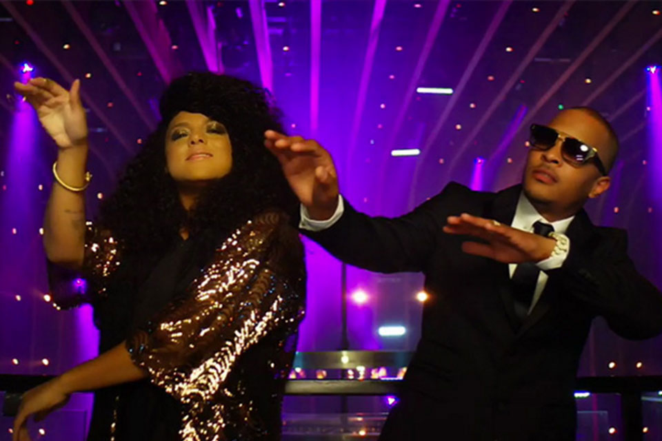 T.I. ft. Marsha Ambrosius - Dope (Video)