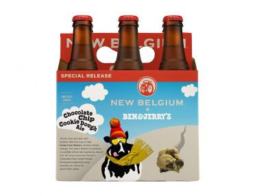 Ben & Jerry's x New Belgium Brewing Chocolate Chip Cookie Dough Ale