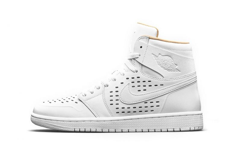 Air Jordan 1 Returns With Perforated Leather