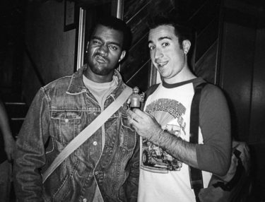 Hot Karl and Kanye West