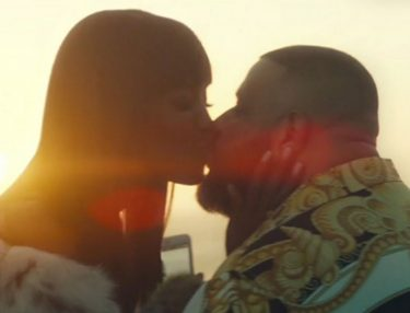 DJ Khaled and Naomi Campbell