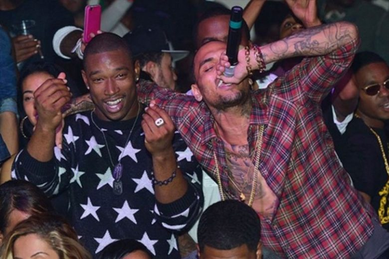 Kevin McCall and Chris Brown
