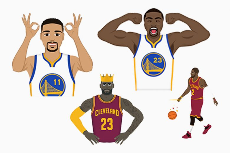 NBA Unveils Emoji App For Finals: NBAmoji