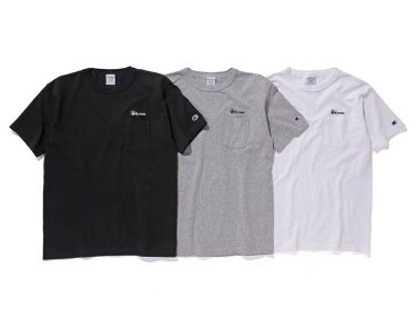 Stussy x Champion Spring/Summer 2016 T-Shirts
