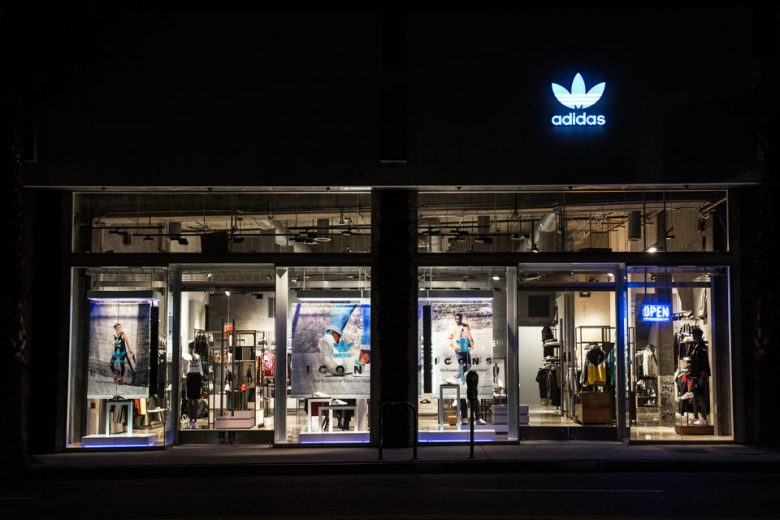 adidas store los angeles locations