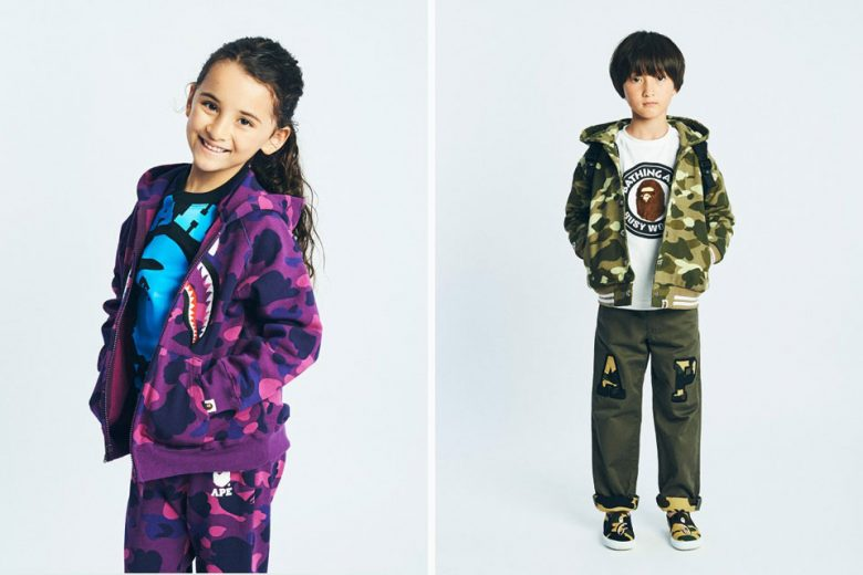 BAPE Kids FW16 Collection