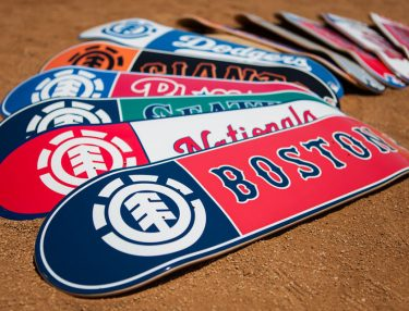 Element Announces Line of MLB Skateboards