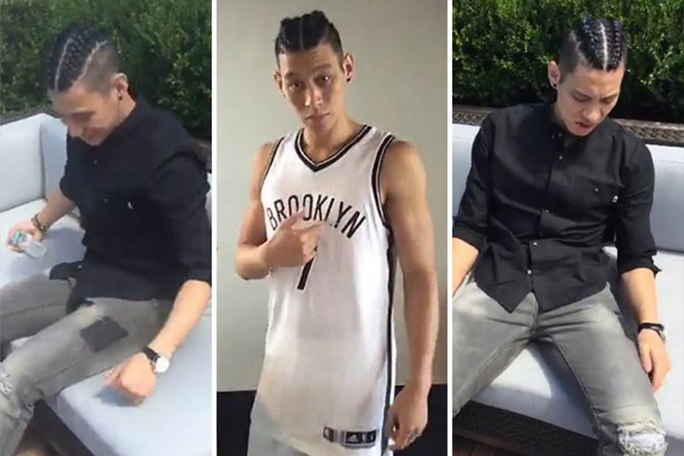Jeremy Lin Gets Braids