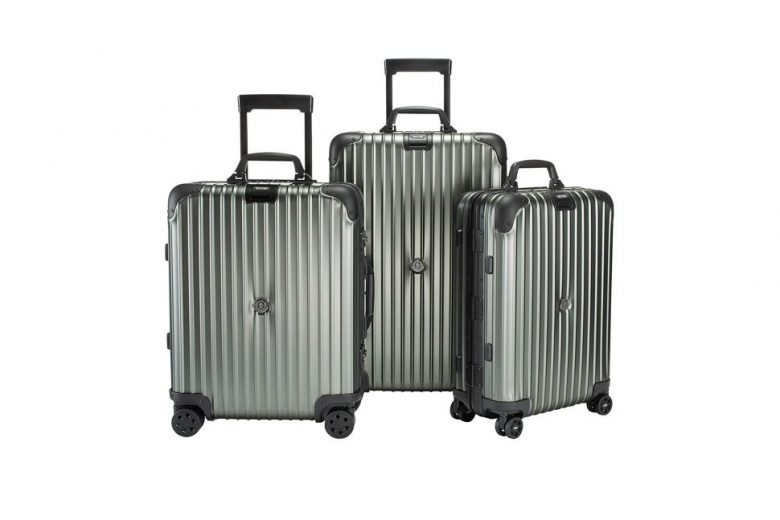 Moncler x Rimowa Topas Stealth Luggage Collection`