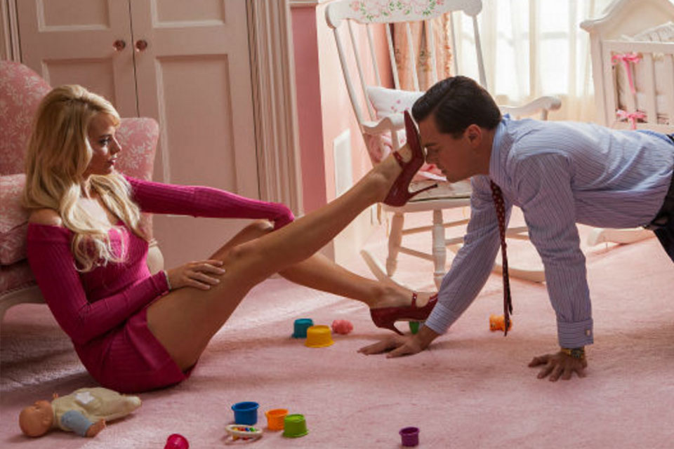 The wolf of wall street sexy scenes