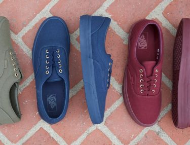 Vans Fall 2016 Era Mono Pack