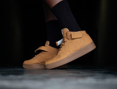 BAPE Bapesta Mid Wheat