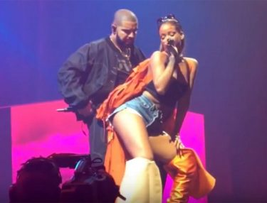 Rihanna Joins Drake Onstage at OVO Fest