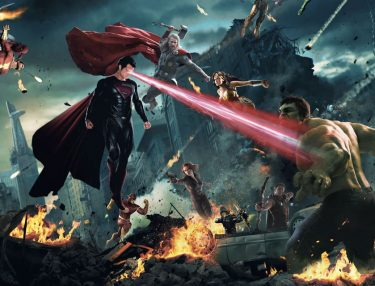 Epic Battle Supercut: Marvel vs. DC