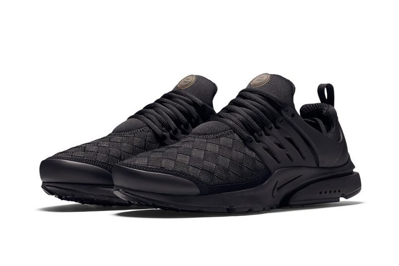 Nike Air Presto Woven - Triple Black