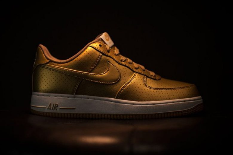 Nike Celebrates Olympics With Metallic Gold Air Force 1