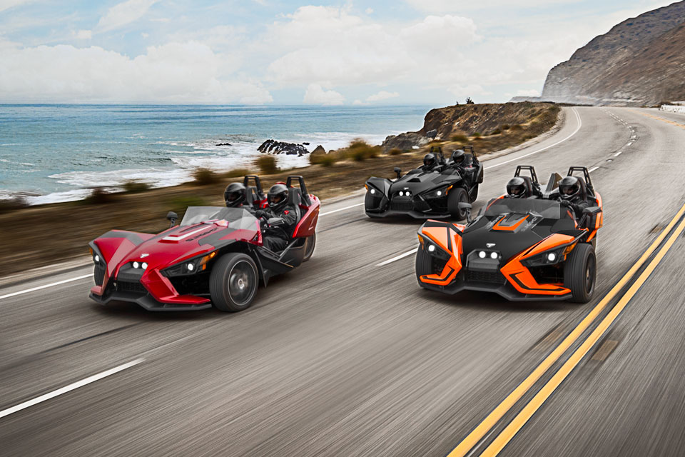 2017 Polaris Slingshot Line-Up