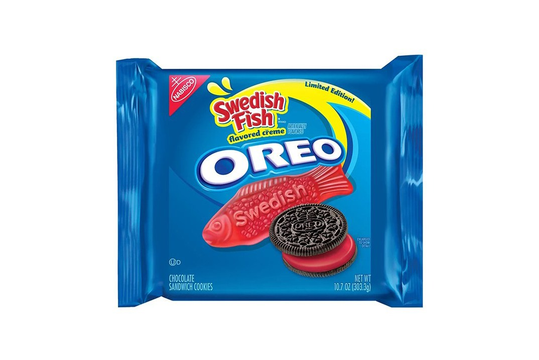 Oreo Releases Limited Edition Swedish Fish Flavor ...