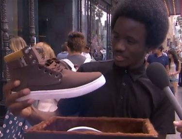 Jimmy Kimmel Pranks People With Adidas Yeezy Boost 1150