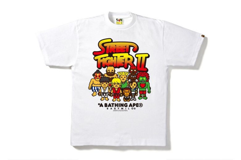 BAPE x Street Fighter T-Shirt Collection