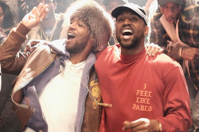 Kid Cudi and Kanye West