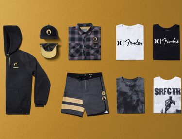 Hurley x Fender Fall 2016 Capsule Collection