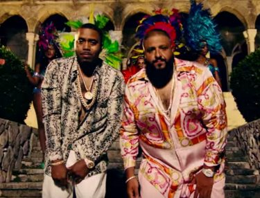 DJ Khaled and Nas