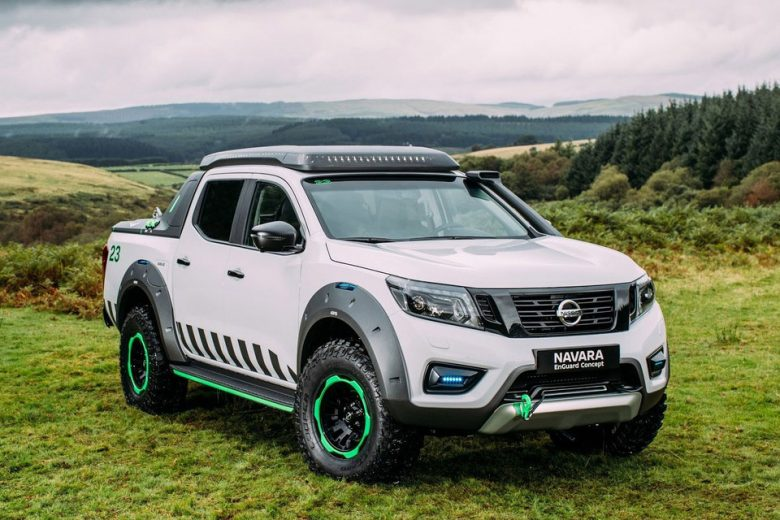 Nissan's Navara EnGuard concept is a high-tech rescue vehicle