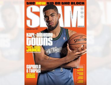 Karl-Anthony Towns covers SLAM 2016