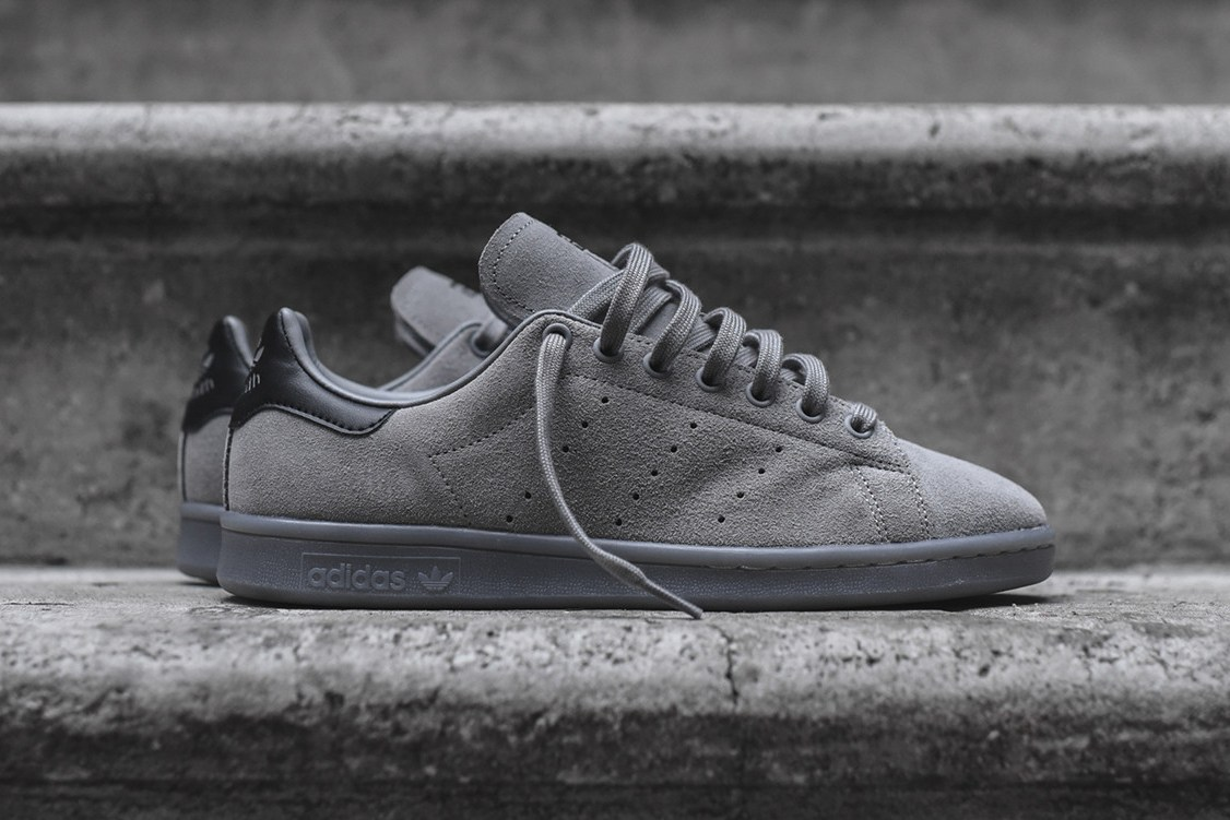 Adidas Stan Smith Charcoal Suede