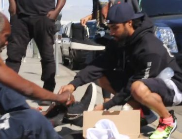 Fear Of God's Jerry Lorenzo Gives Away Sneakers to Homeless in L.A
