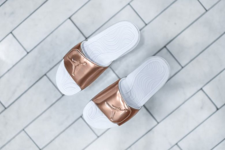 Air Jordan Hydro Pinnacle Slide Bronze