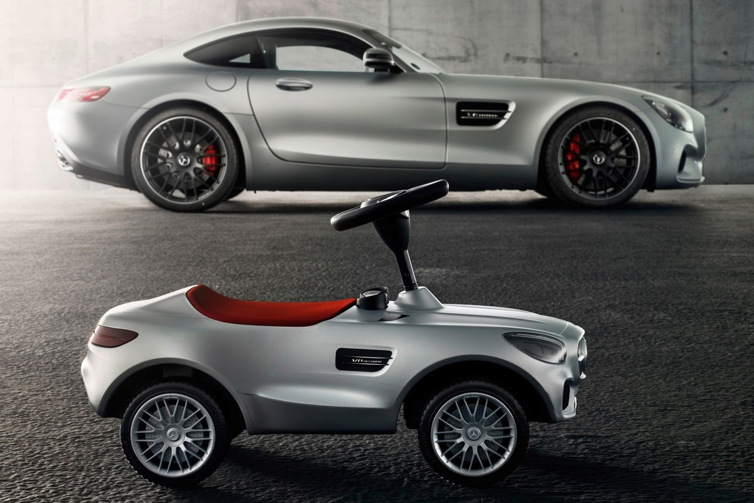 mercedes benz unveils amg gt bobby car. Black Bedroom Furniture Sets. Home Design Ideas