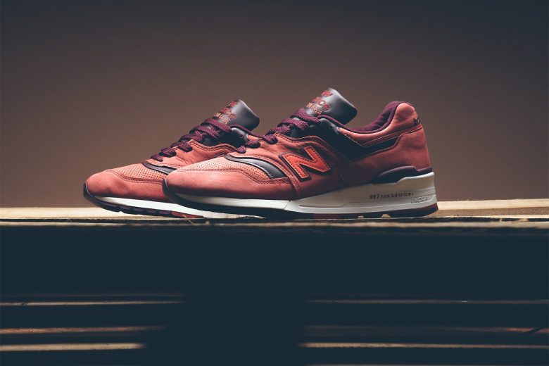 Horween Leather x New Balance 997 Red Clay