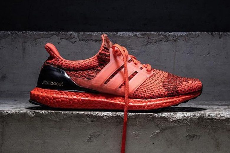 Red Adidas Ultra Boost