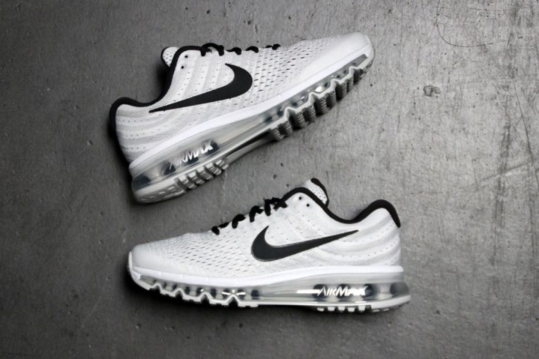 nike air max 2017 white black pure platinum